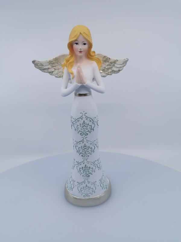 Dekoračný anjel, 25x12cm