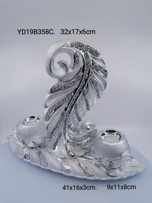 Strieborná dekorácia  358S