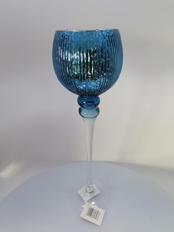 Modrý kalich 40x12cm