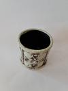 Nádoba MELUZA, antický štýl, svetlá, 13,5x13x12 cm