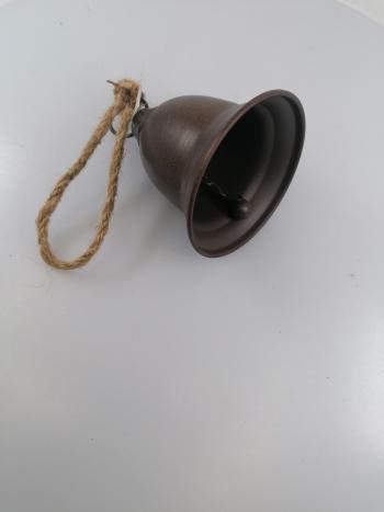 Kovový zvon 14x10cm