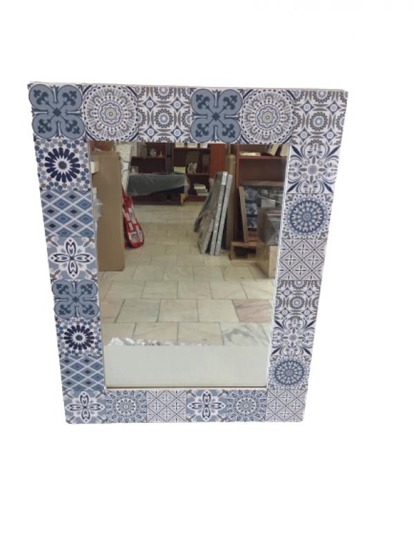 Interierové Zrkadlo na stenu 56x42 cm