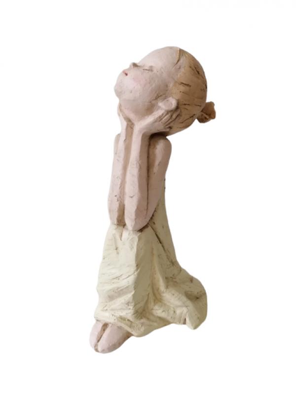 Záhradná socha dievčaťa 31cm