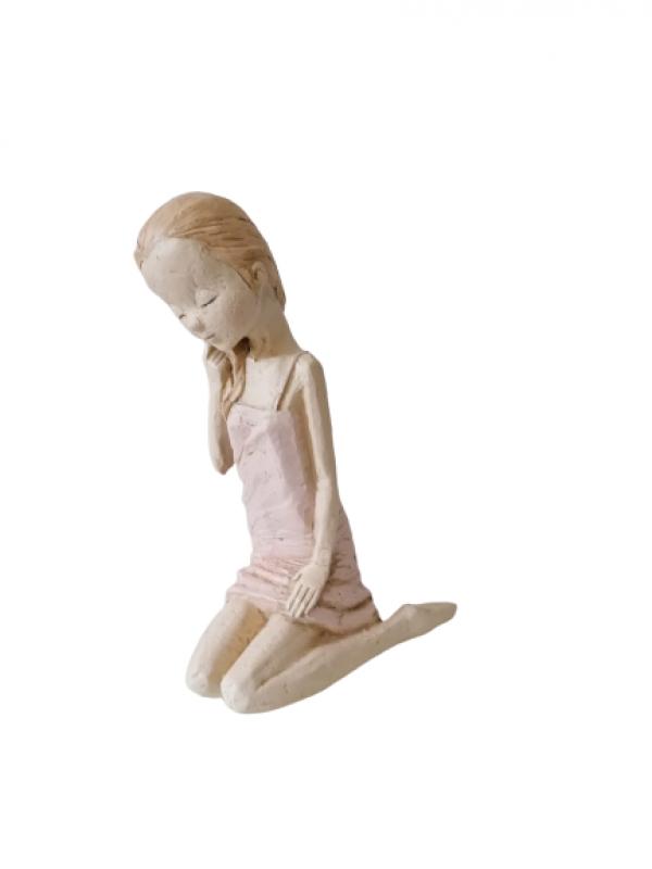 Záhradná socha dievčatka 27cm