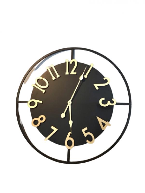 Kovové nástenné hodiny 70cm