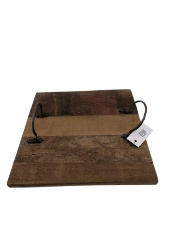 Drevená tácka Lopár 2x30x30 cm