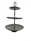 Dekoračná tácka Etažér V. 50 priemer 34, 30, 20 cm