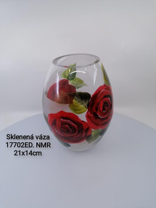 Sklenená váza 17702ED NMR