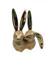 Soška Zajace 17x14x8 cm