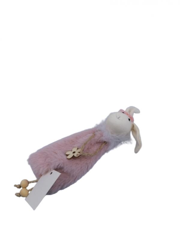 Zajačik ružový 23cm
