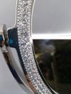 Zrkadlo strieborné 50x35x28cm