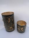 Kovový svietnik 10x10 cm