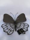 Figurína Kovový motýľ 35x35x8 cm