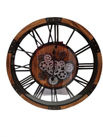 Nástenné hodiny 68x8cm