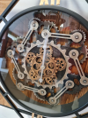 Nástenné hodiny  71x71x7cm