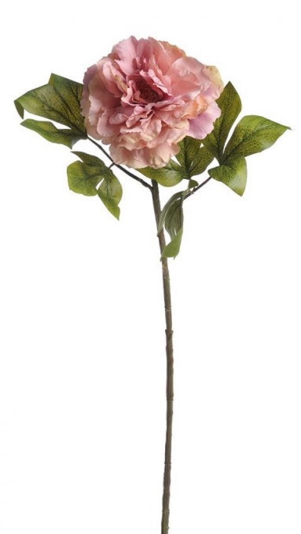 Umelý kvet pivónie ružový
